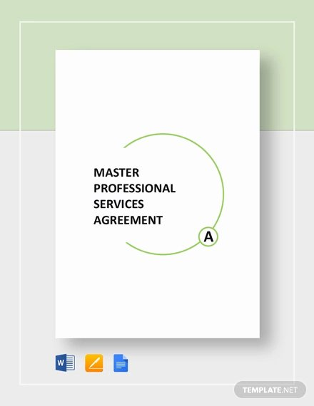 Professional Services Agreement Template Fresh 28 Professional Services Agreement Examples Pdf Word