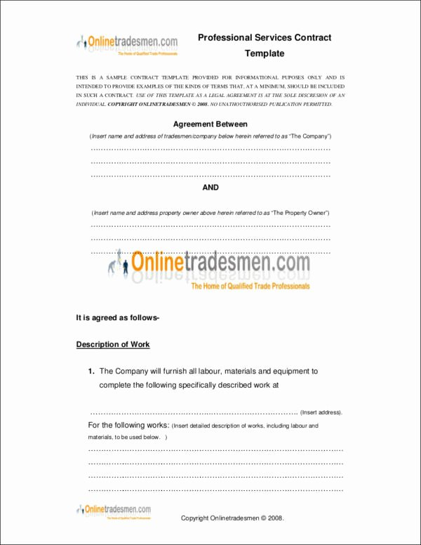 Professional Services Agreement Template New Difference Between A Contract and An Agreement Templates and Samples
