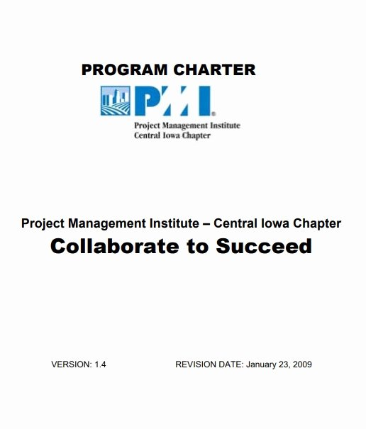 Project Charter Example Pdf Elegant Project Charter Templates