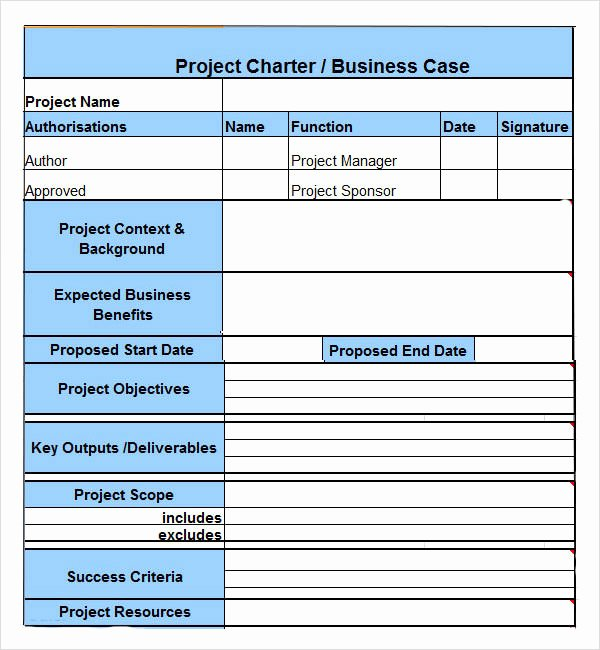 Project Charter Example Pdf Luxury Project Charter 7 Free Pdf Doc Download