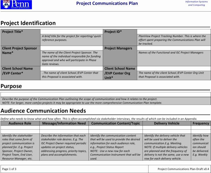 Project Execution Plan Template Beautiful 8 Project Plan Templates Free Download