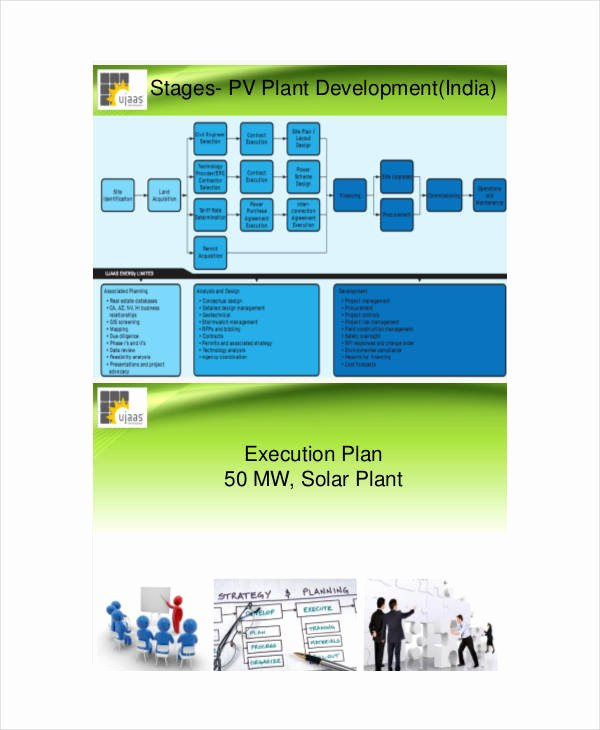 Project Execution Plan Template Lovely Free 39 Project Plan Examples In Pdf Word Pages