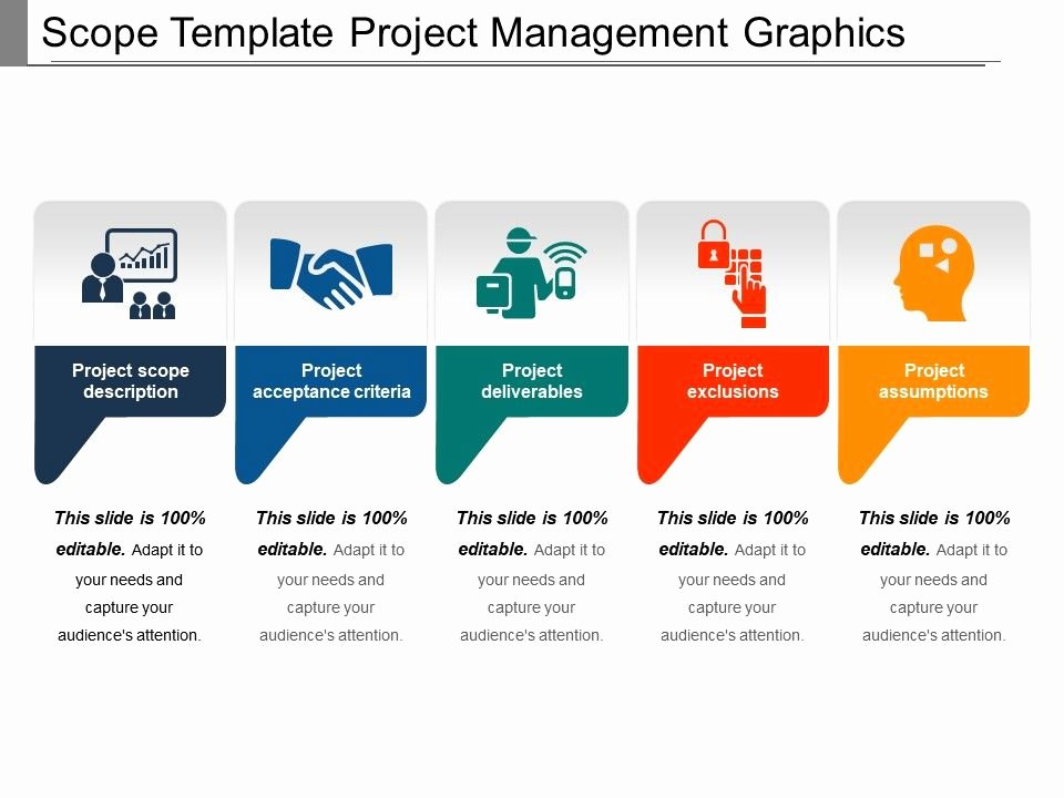 Project Management Scope Template New Scope Template Project Management Graphics Ppt Icon Powerpoint Presentation Designs