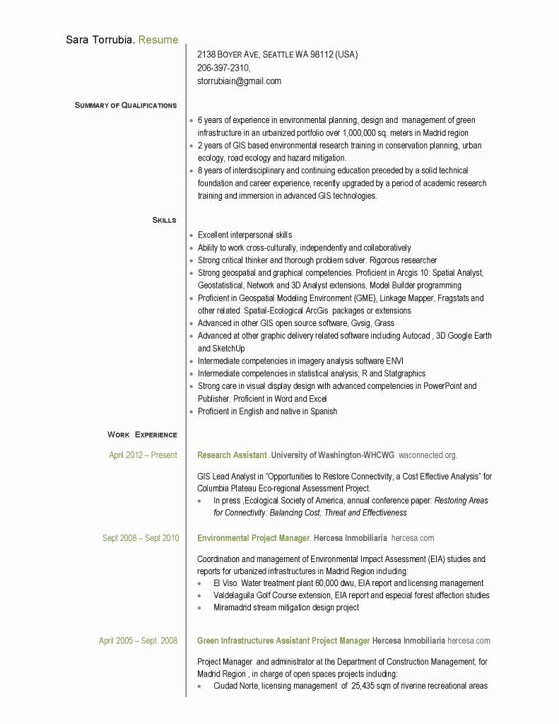 Project Manager Resume Pdf Beautiful assistant Project Manager Resume Pdf Pdf format