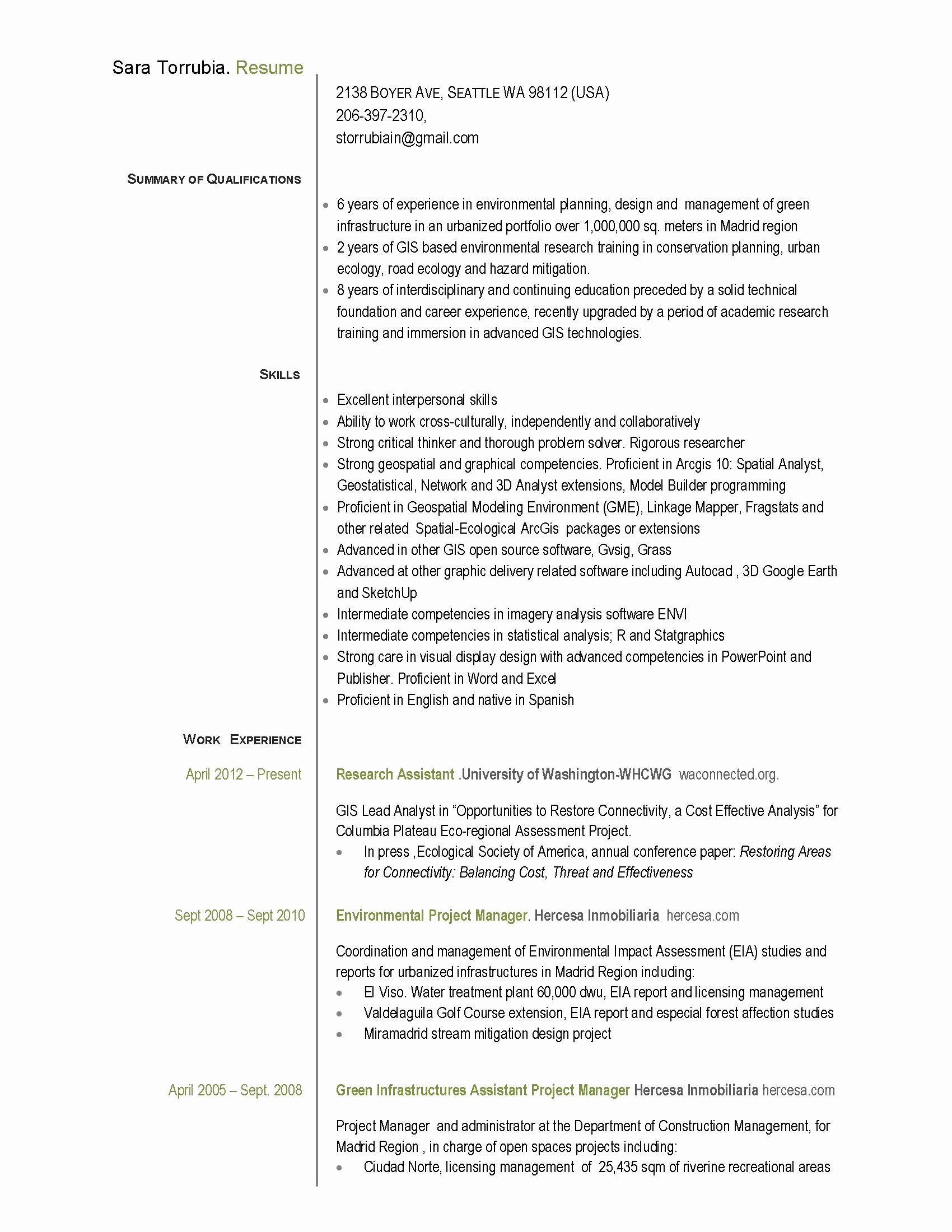 Project Manager Resume Pdf Inspirational assistant Project Manager Resume Pdf Pdf format