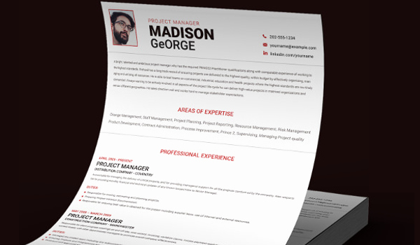 Project Manager Resume Sample Doc Beautiful 9 Project Manager Resume Templates Doc Pdf