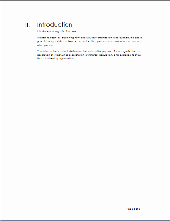 Project Outline Template Word Awesome Project Outline Template
