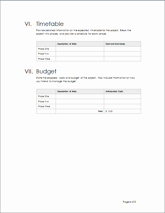 Project Outline Template Word Lovely Project Outline Template