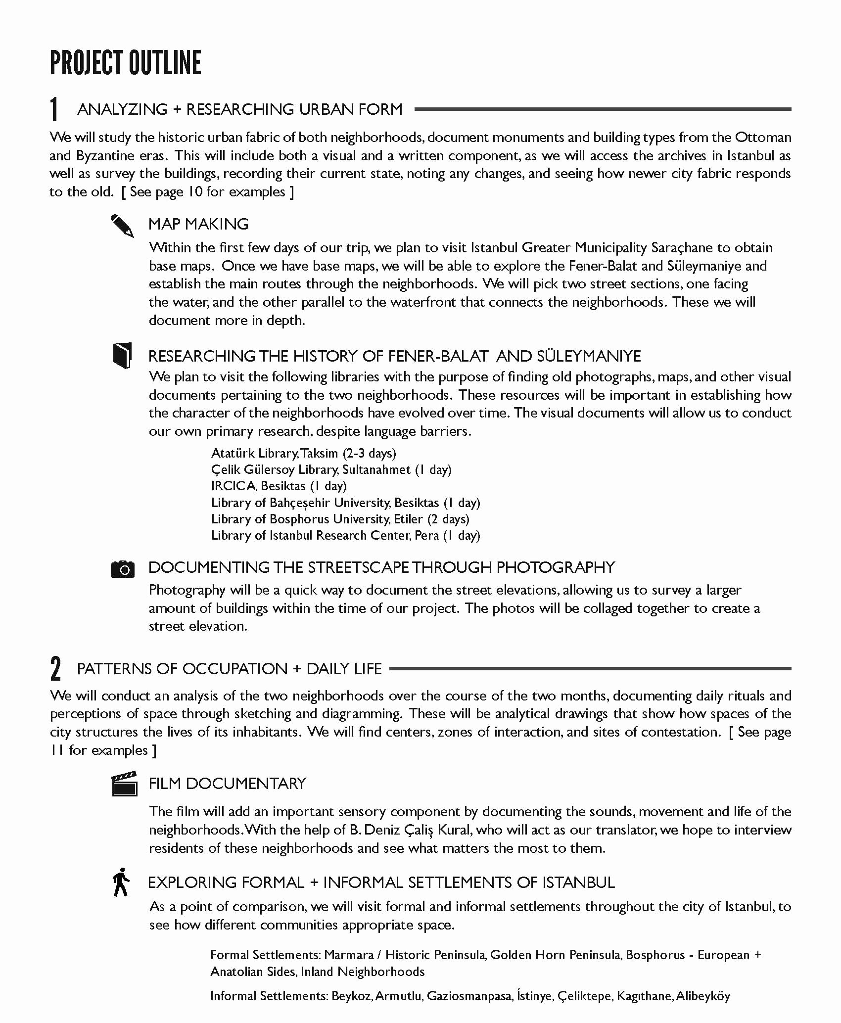 Project Outline Template Word Luxury Project Outline and Schedule