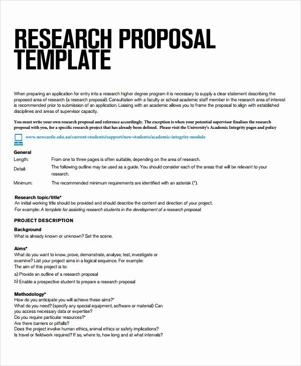 Project Proposal format for Student Awesome Sample Research Project Template 7 Free Documents Download In Pdf Word