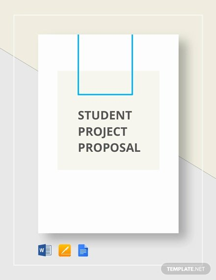 Project Proposal format for Student Lovely 14 Student Project Proposal Templates Pdf Doc
