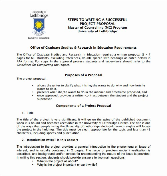 Project Proposal format for Student New Writing Proposal Template 21 Free Word Excel Pdf format Download