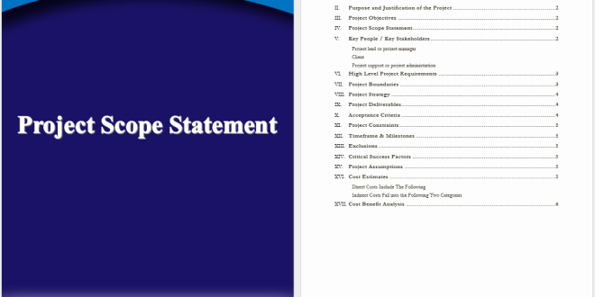 Project Scope Statement Template Lovely Project Scope Statement Template – Word Templates for Free Download