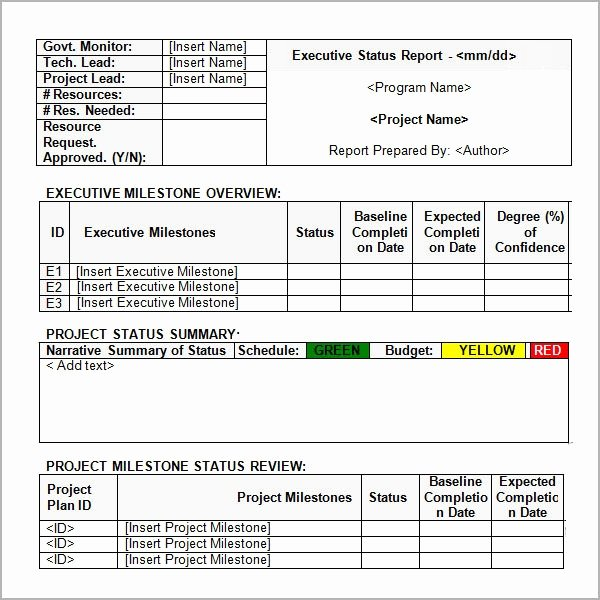 Project Status Report Example Luxury Free 9 Sample Status Reports In Google Docs Ms Word Pages