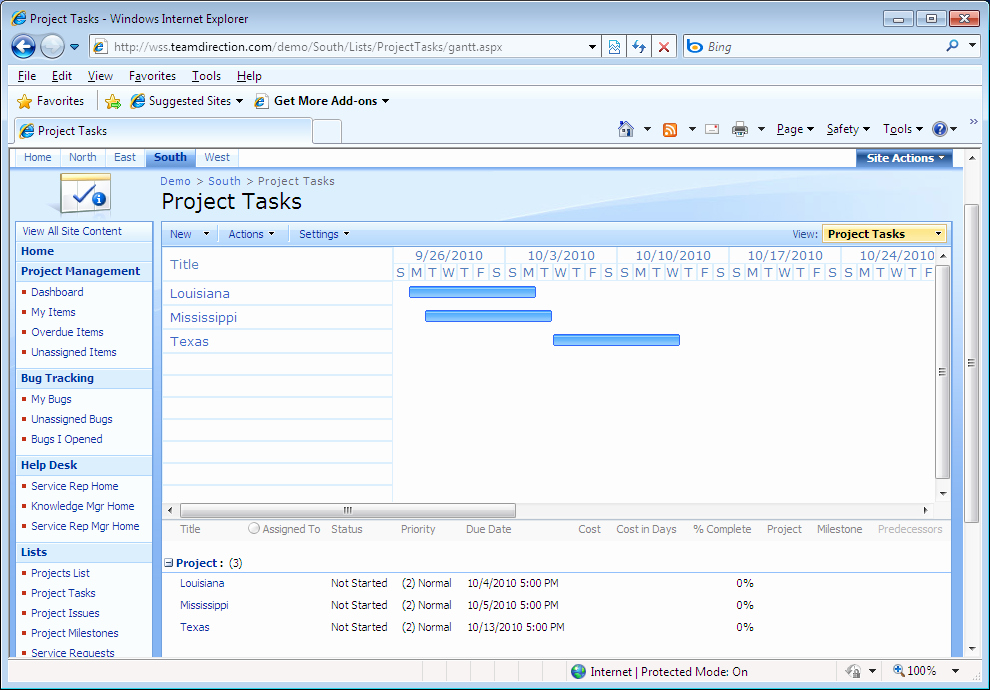 Project Task List Example New Intelligantt Publish Ms Project 2010 Tasks to Point 2007