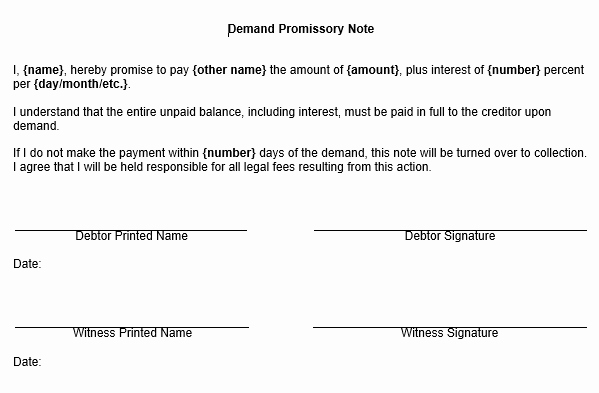 Promissory Note Template Texas Beautiful Printable Sample Promissory Note Sample form Real Estate forms