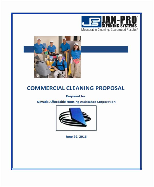 Proposal for Cleaning Services Pdf Elegant 6 Cleaning Business Proposal Templates Word Pdf