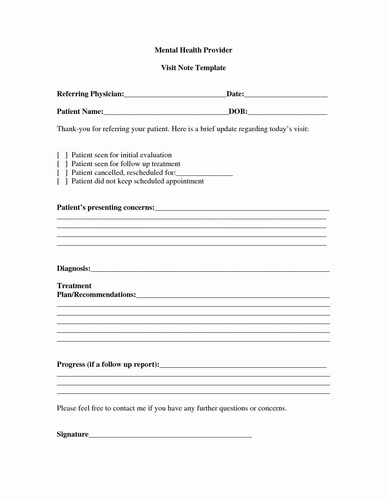 Psychiatric Progress Note Template Lovely Progress Note Template for Mental Health Counselors