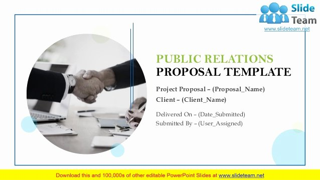 Public Relations Proposal Example Lovely Public Relations Proposal Template Powerpoint Presentation Slides