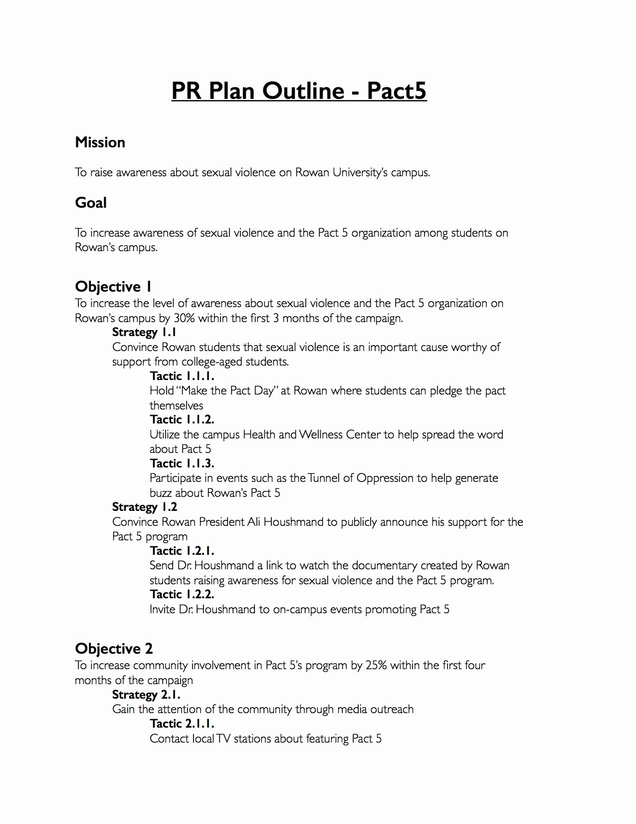 Public Relations Proposal Template Lovely Pr Proposal Template