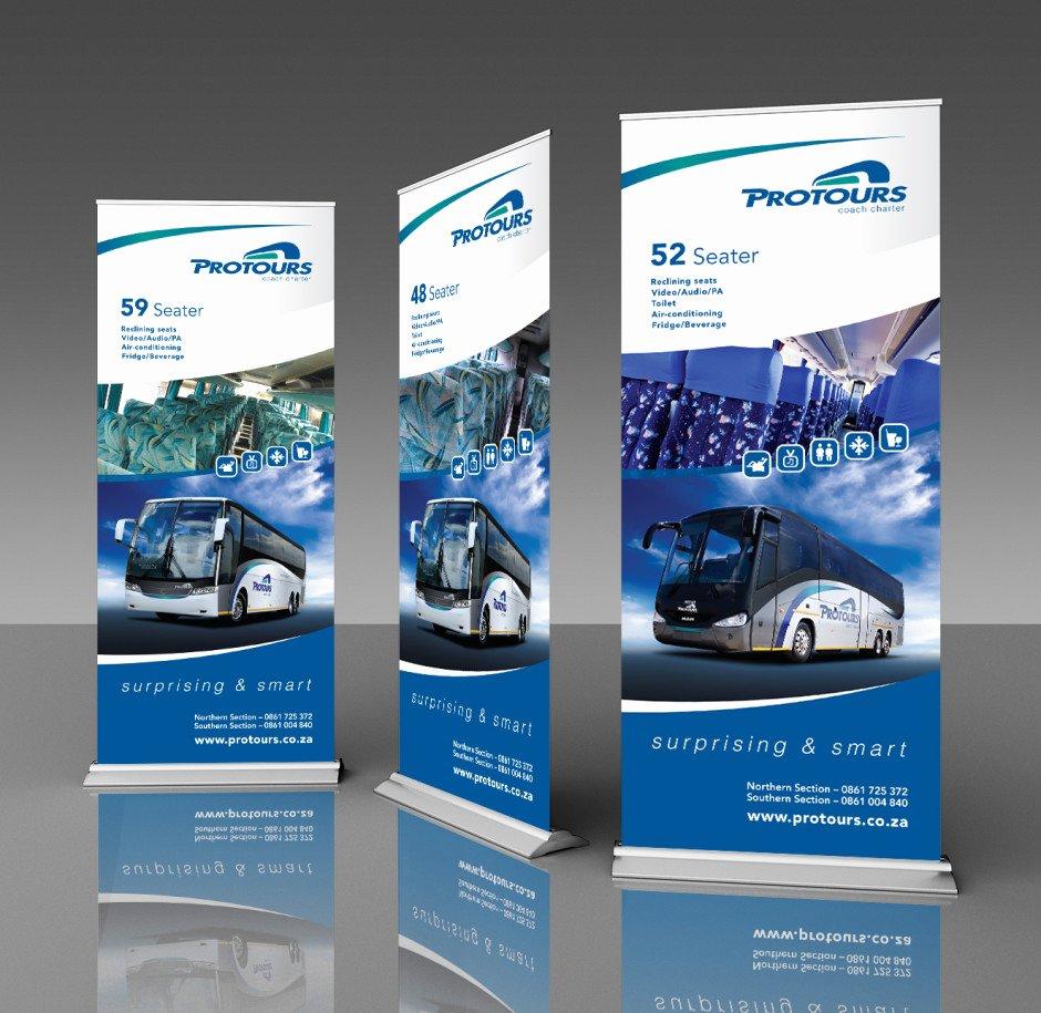 Pull Up Banner Design Elegant Expert Banner Design Banner Design Services