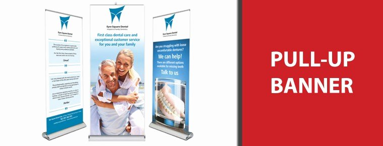 Pull Up Banner Designs Awesome Signwest Sign Suppliers Ireland Eyre Square Dental