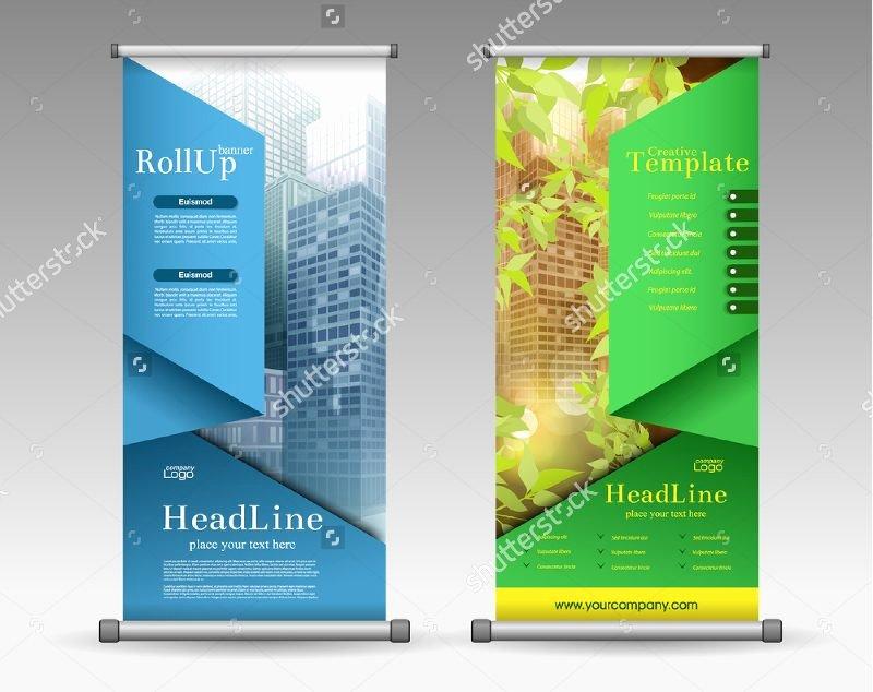 Pull Up Banner Designs Elegant Pull Up Banner Design Template