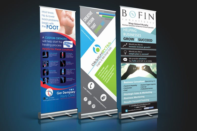 Pull Up Banner Designs New Our Work