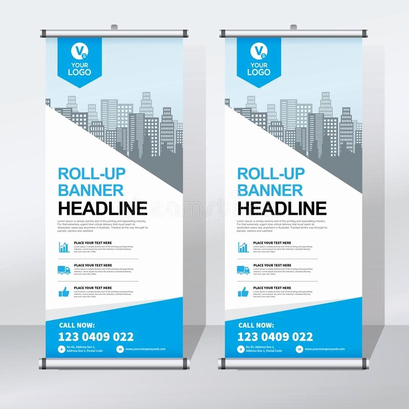Pull Up Banners Design Beautiful Roll Up Banner Design Template Vertical Abstract Background Pull Up Design Modern X Banner