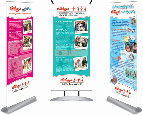 Pull Up Banners Design Elegant Pull Up Banners Freehand