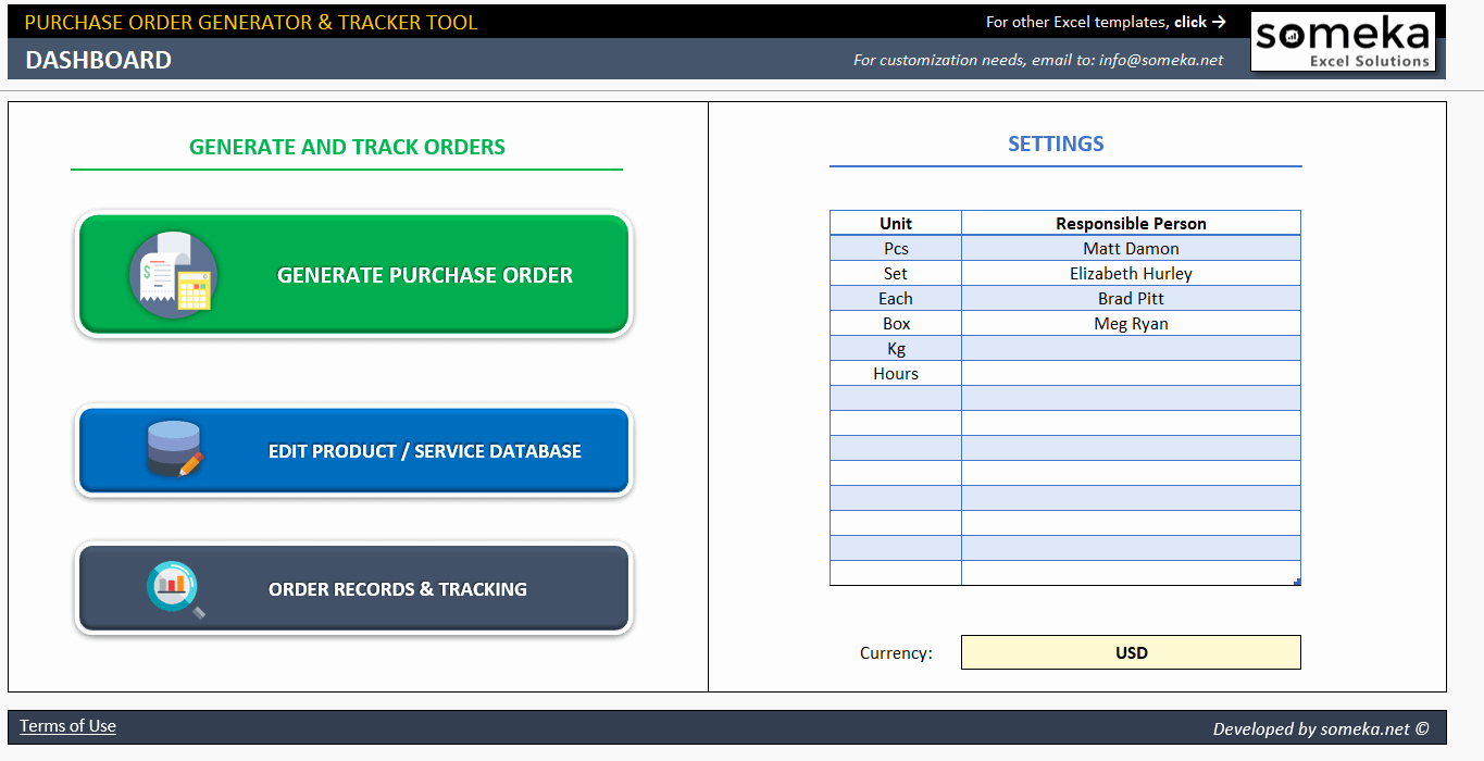 Purchase order Tracker Excel Lovely Excel Purchase order Template Ready to Download