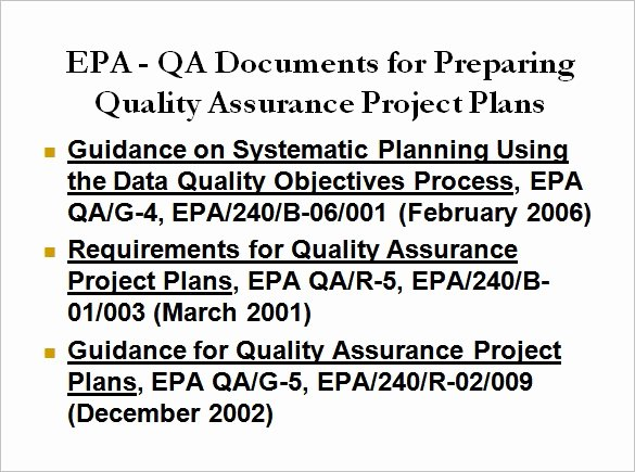 Quality assurance Plans Template New 16 Quality assurance Plan Templates Word Pdf Google Docs