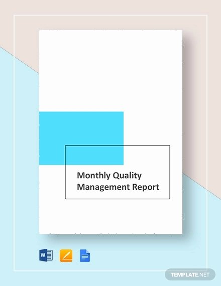 Quality assurance Reports Examples Elegant Free 12 Quality Report Examples In Word Pdf