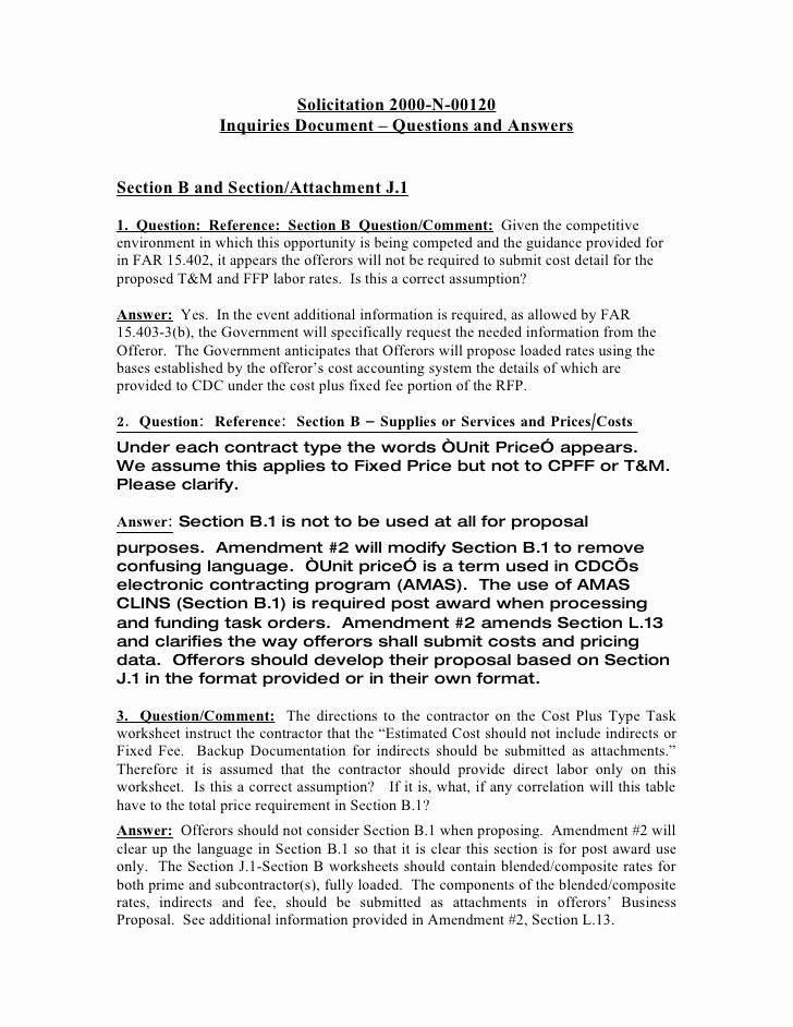 Question and Answer Template Awesome Questions and Answers Word format C