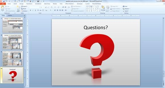Question and Answer Template Luxury Awesome Questions & Answers Powerpoint Templates