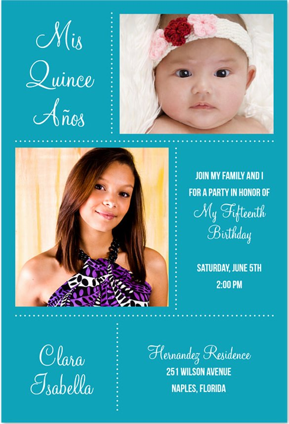 Quinceanera Invitation Templates Free New 20 Quinceanera Invitation Templates Word Psd Ai Eps