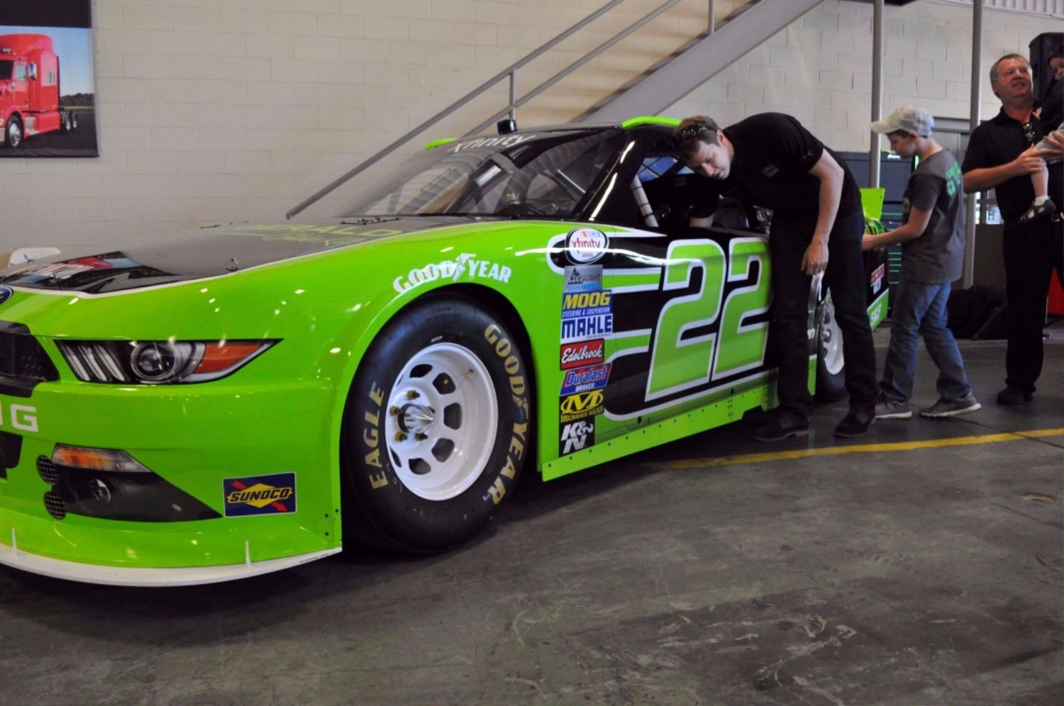 Race Car Sponsorship Packages Beautiful the No 22 Nascar ford Mustang Sponsored by Fitzgerald