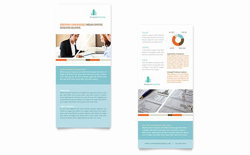 Rack Card Template Indesign Beautiful Rack Card Templates Indesign Illustrator Publisher Word