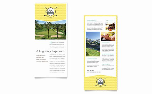 Rack Card Templates Designs Library