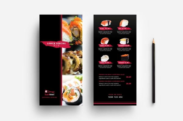 Rack Card Template Indesign Inspirational 10 Restaurant Rack Card Templates Ms Word Publisher