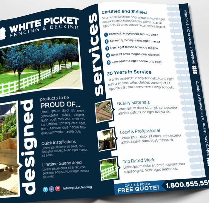 Rack Card Template Indesign Inspirational Whitepickettemplate 03