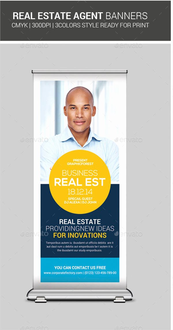 Real Estate Banner Ads Awesome 9 Real Estate Advertising Banners Design Templates
