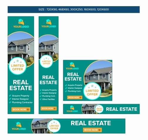 Real Estate Banner Ads Best Of Banner Ad Template Awesome Psd Banner Templates Dealmirror