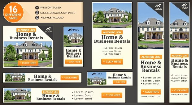 Real Estate Banner Ads Elegant 16 Real Estate Banners Free Psd Ai Vector Eps format Download