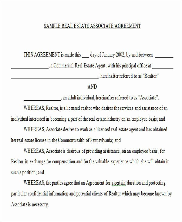 Real Estate Confidentiality Agreement Unique 6 Sample Real Estate Confidentiality Agreements Free Sample Example format Download