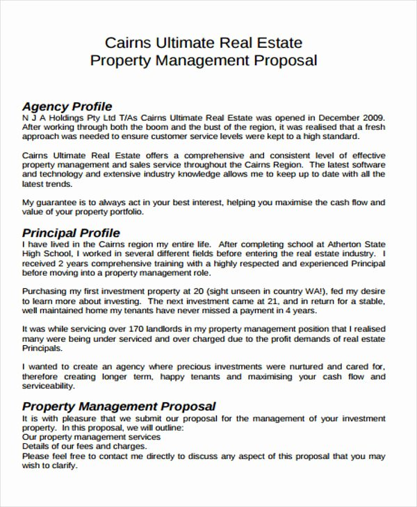 Real Estate Development Proposal Inspirational 13 Real Estate Business Proposal Templates Free Word Pdf format Download