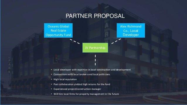 Real Estate Development Proposal New Real Estate Development Case Presentation