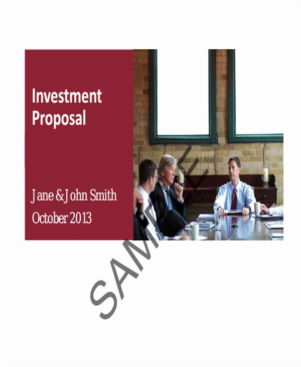 Real Estate Investment Proposal Inspirational 32 Business Proposal formats Word Pdf Apple Pages