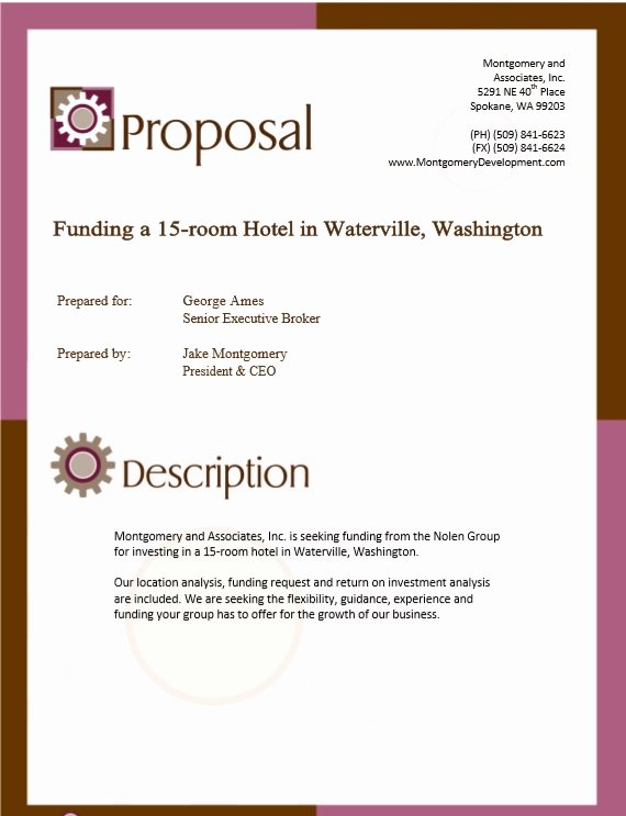Real Estate Investment Proposal Lovely 9 Free Sample Real Estate Proposal Templates Printable Samples