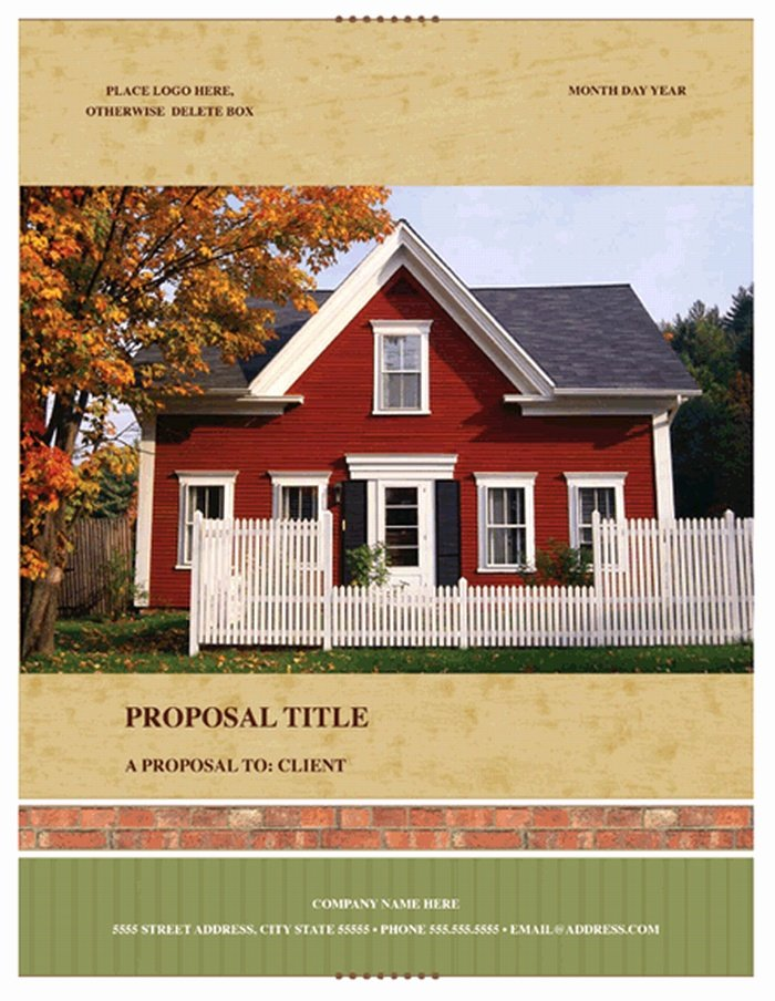 Real Estate Investment Proposal Template Awesome Project Proposal Template 27 Free Premium Word